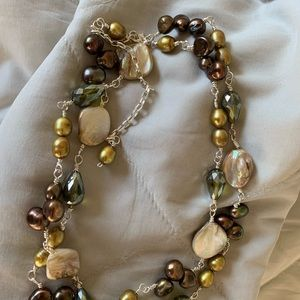 Handcrafted Necklace New by Quicksilvergems